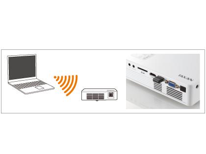 Wi-Fiを始め、多種多様な入力端子を用意