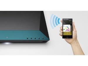 スマートフォンの音楽再生が、ワンタッチでできる「NFC(*1)」