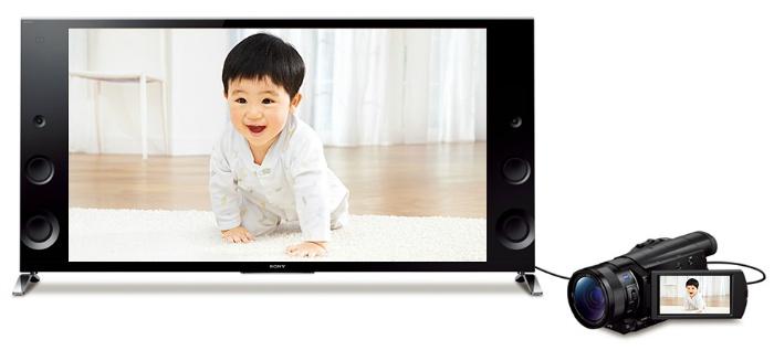 4K対応テレビでも、フルHDテレビでも楽しめる