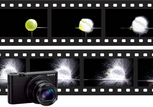 ポケットサイズでプロのような映像表現を可能にするスーパースローモーション(*)