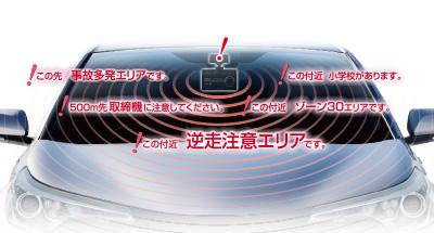 GPSおしらせ機能 「GPSデータ件数 10種 39,000件以上」
