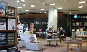 書店Chaptersの店内にあるスターバックス