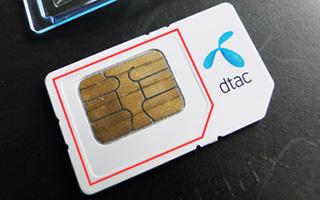 短期使用限定SIMカード