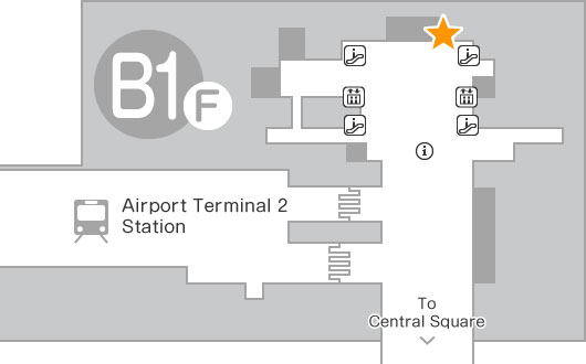 B1F Mobile Center Narita