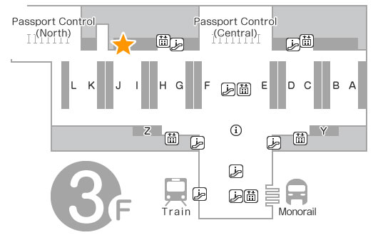 Departure Lobby 3F XCOM Global Counter