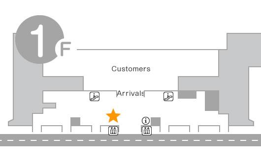 International Terminal 1F Telecom Square Counter