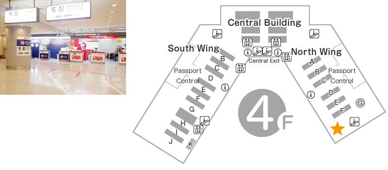 North Wing 4F Telecom Square Counter