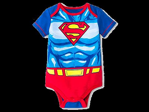 ソウ・スーパーマンのロンパース