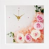 プリザーブドフラワー 花時計の画像