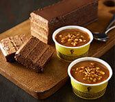 テオブロマ アイス&ショコラケーキセット