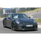 ポルシェ 911 GT3 RS 次期型、さらに攻撃的スタイルで9月登場へ