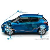 【スズキ スイフトハイブリッド】日立オートモティブのリチウムイオン電池モジュールを採用