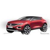 VWのコンパクトSUV、T-Roc …リアスタイルも見えた