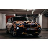 BMWの最小SUVクーペ、X2 …プロトタイプの画像を公開