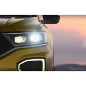 VWの新型SUV、T-Roc…実車の内外装を見せた動画を公開