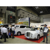 【エンディング産業展2017】光岡自動車、4台の霊柩車を展示…「引き合いが増えればいい」