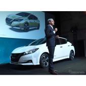 日産 リーフ 新型、欧州発売…部分自動運転など先進運転支援を搭載