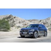 【BMW X3 新型】デザイン刷新、部分自動運転可能な運転支援システムも搭載