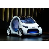 【東京モーターショー2017】2030年を目標にスマートが開発中の自動運転車