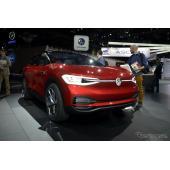 VW、電動SUVを米国投入へ…I.D. CROZZ コンセプトの市販版【ロサンゼルスモーターショー2017】