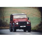 ランドローバー、405psの「ディフェンダー」を150台限定発売