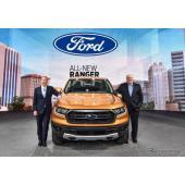 フォード レンジャー 新型、クラス唯一の10速AT…デトロイトモーターショー2018で発表
