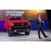 シルバラード 新型に「トレイルボス」、オフロード仕様を公開…デトロイトモーターショー2018