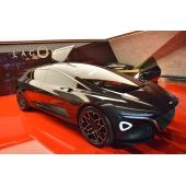 【ジュネーブショー2018】アストンマーティンの高級車ラゴンダがEVとして復活