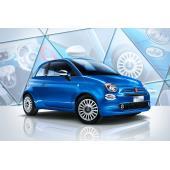 イタリアブルーが鮮やかな「フィアット500」の限定車発売
