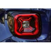 ジープの小型SUVレネゲード、改良新型モデルを発表へ…ティザーイメージ