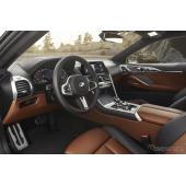BMW 8シリーズ 新型のインテリアをまじまじと見る[詳細画像]