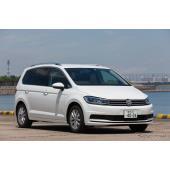 VW ゴルフ トゥーラン、テクノロジーパッケージにダイナミックライトアシストを追加
