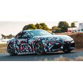 トヨタ スープラ 新型、プロトタイプの走行シーン…グッドウッド2018