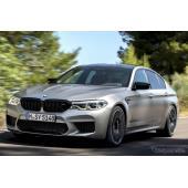 BMW、M5 コンペティション を欧州発売へ…625hpの最強モデル