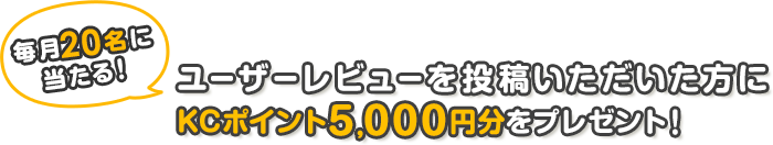 ����20���l�ɓ�����!!���[�U�[���r���[�𓊍e������������ɉ��i.com�|�C���g5,000�~�����v���[���g�I