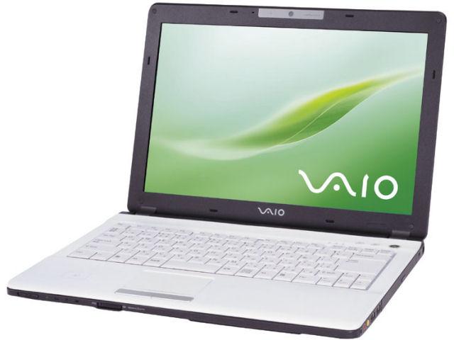 Sony VAIO VGN-FJ12 W