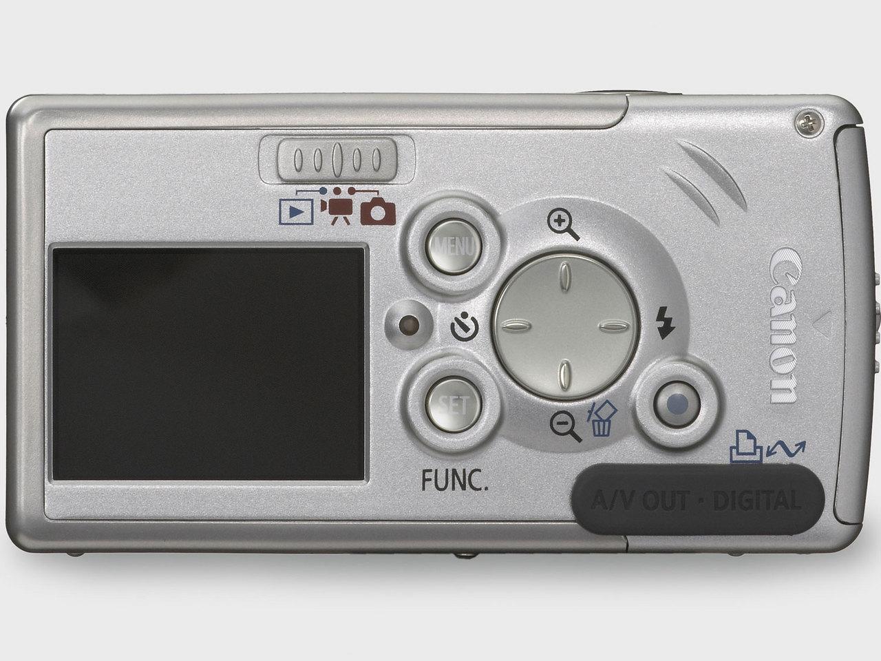 『本体 背面』 IXY DIGITAL L2 の製品画像