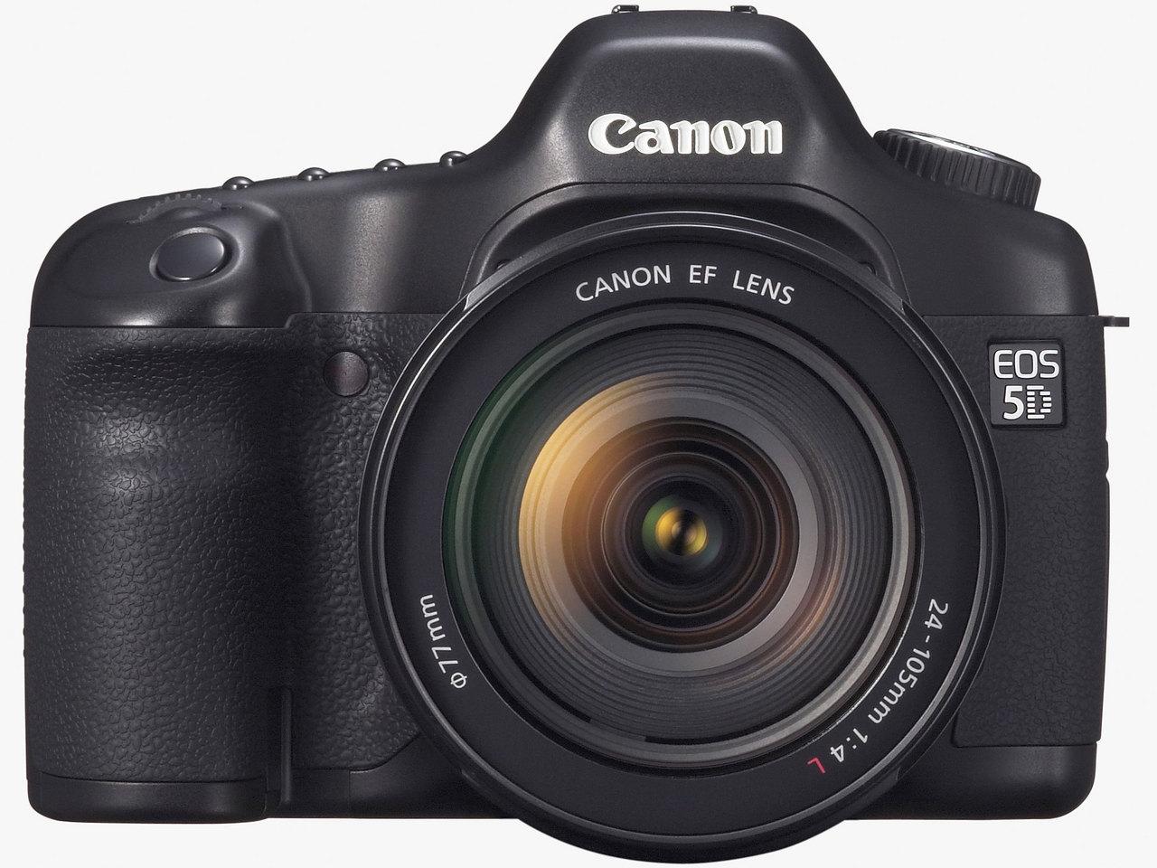 Com eos 5d for Canon 5d especificaciones