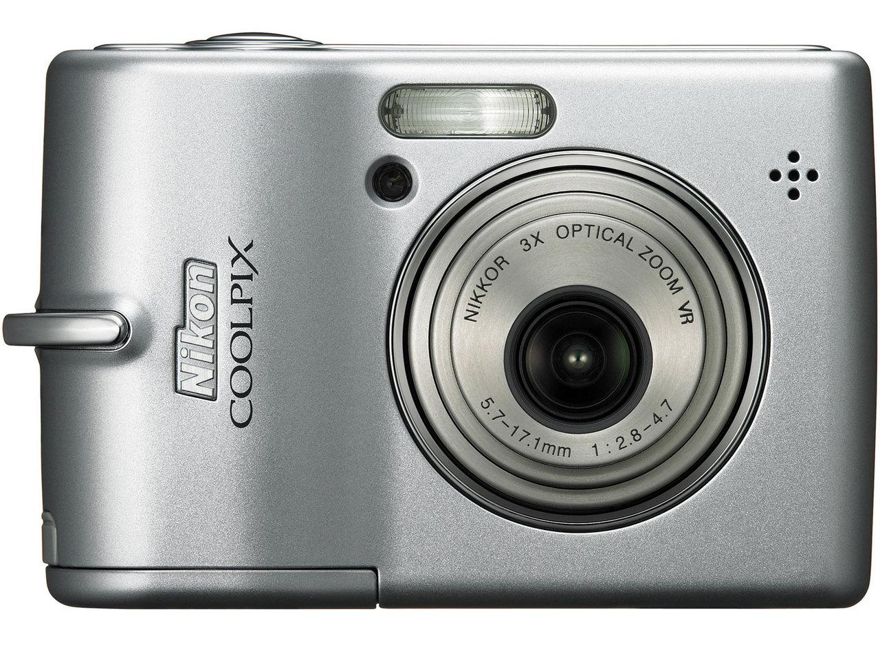 『本体 正面』 COOLPIX L12 の製品画像