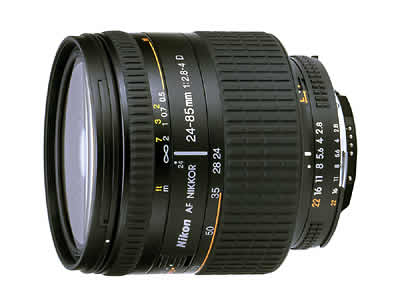 Ai AF Zoom-Nikkor 24-85mm f/2.8-4D IF の製品画像