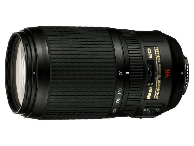 AF-S VR Zoom-Nikkor 70-300mm f/4.5-5.6G IF-ED の製品画像