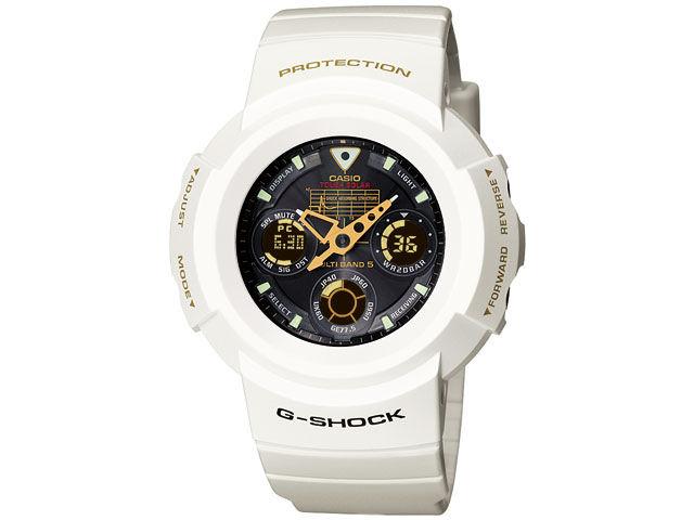 G-SHOCK 25th �A�j�o�[�T���[�u���C�W���O�z���C�g�v AWG-525B-7AJF �̐��i�摜