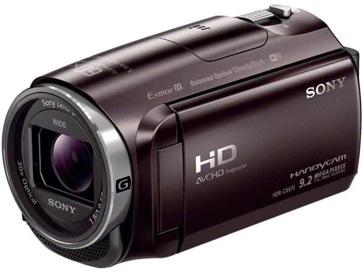 HDR-CX670 の製品画像