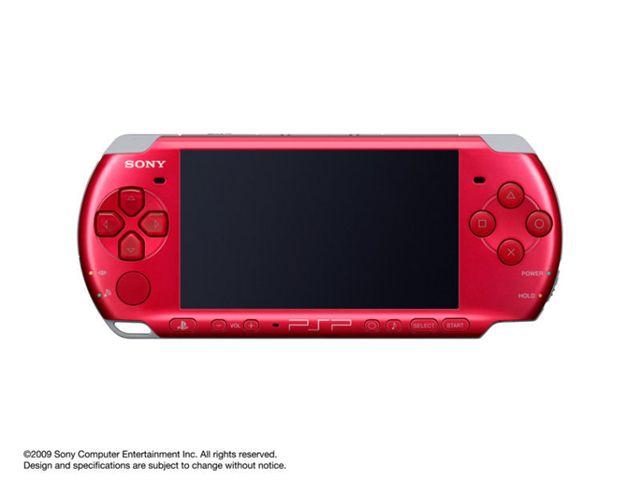 PSP プレイステーション・ポータブル ラディアント・レッド PSP-3000 RR の製品画像