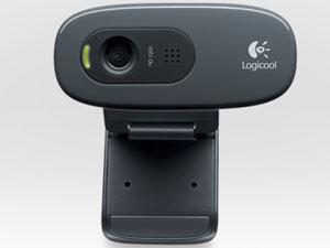 『本体 正面1』 HD Webcam C270 [グレー&ブラック] の製品画像