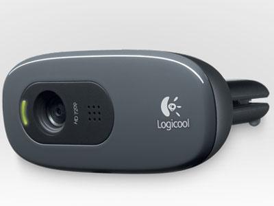 『本体 正面4』 HD Webcam C270 [グレー&ブラック] の製品画像