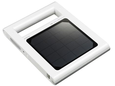 携帯型ライト「eneloop solar light」