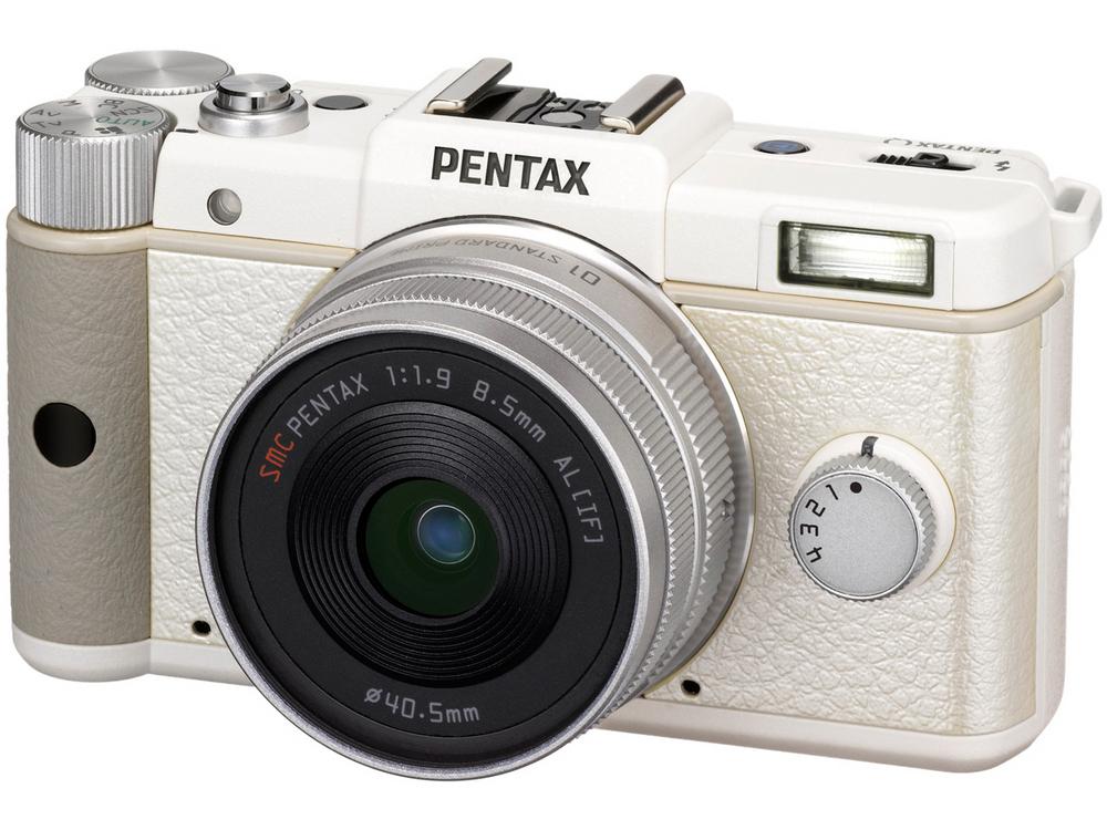 『本体 正面2』 PENTAX Q ダブルレンズキット [ホワイト] の製品画像