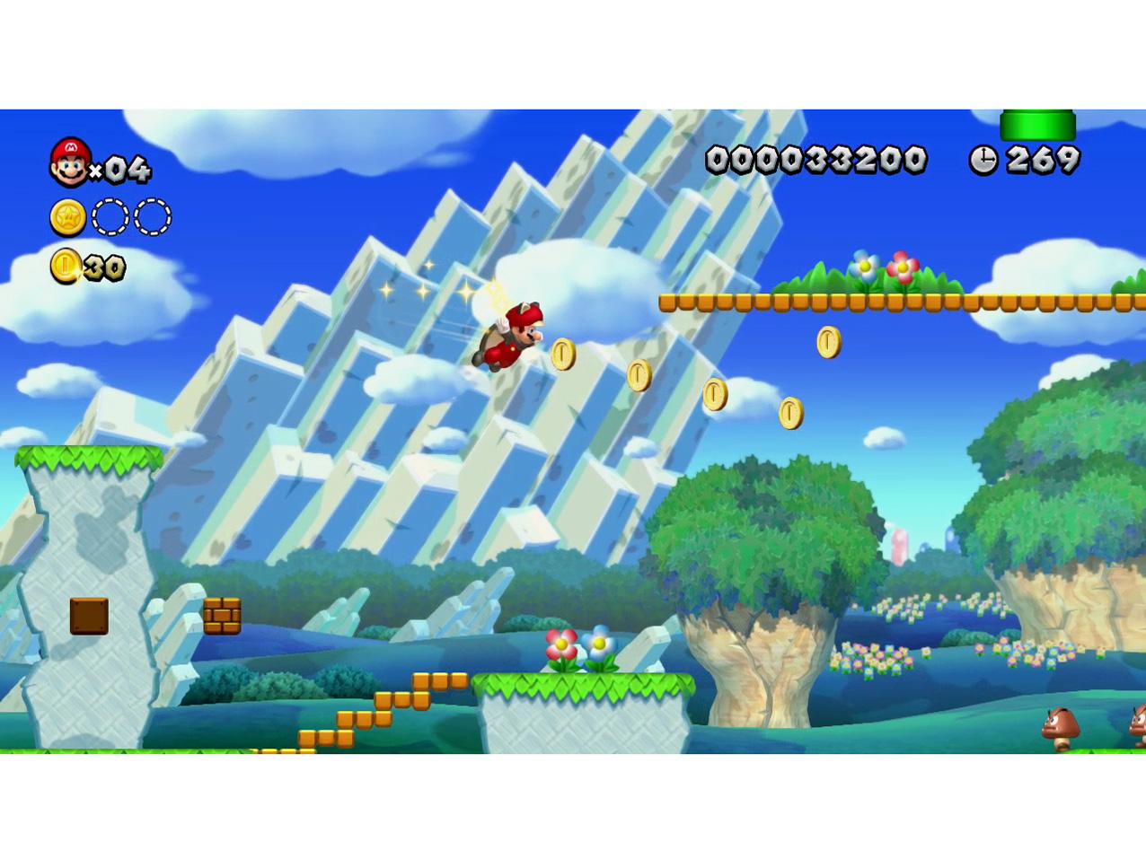 『画面イメージ3』 New スーパーマリオブラザーズ U の製品画像
