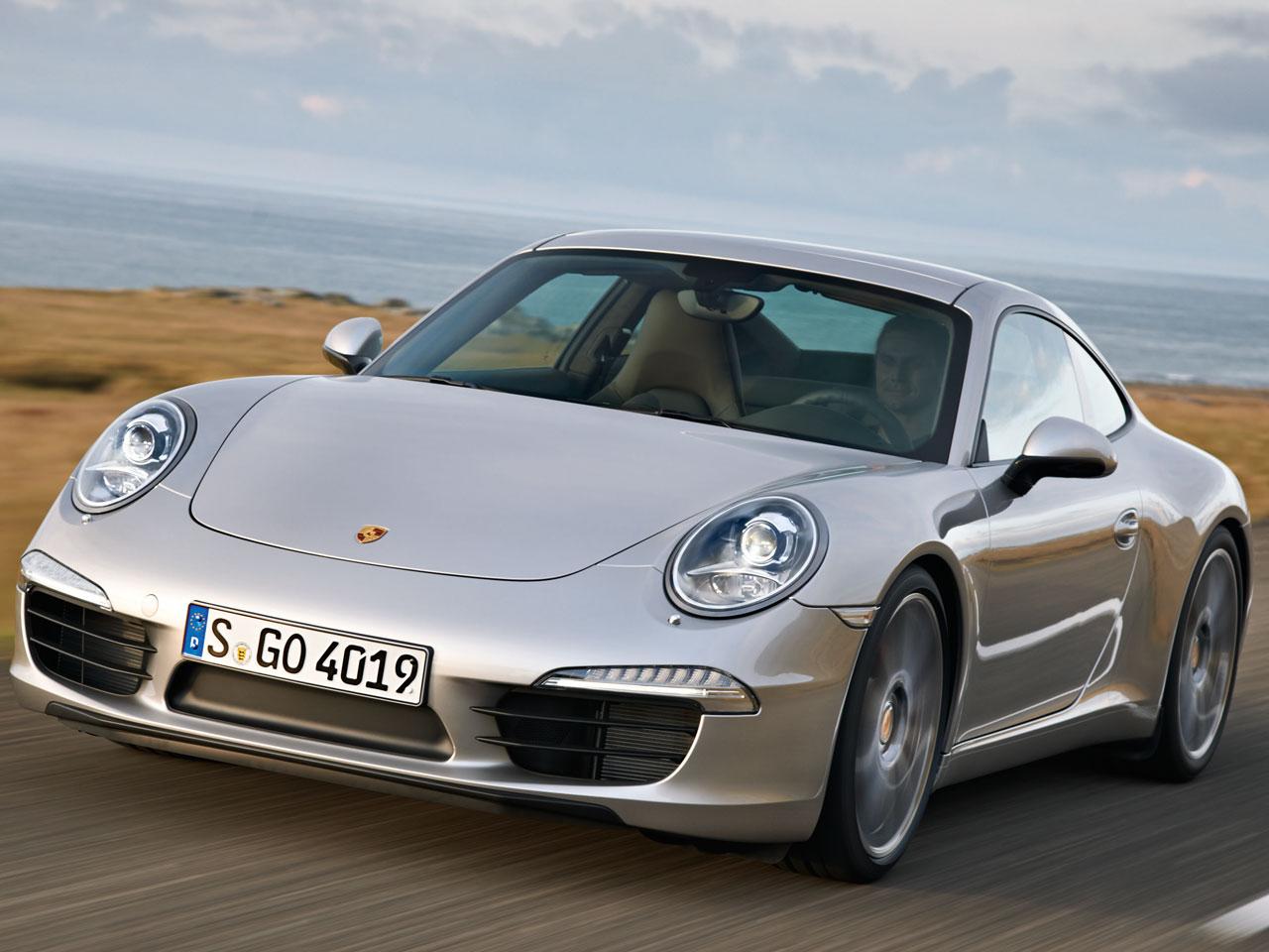 『走行イメージ GTシルバーメタリック10』 911カレラ 2011年モデル の製品画像